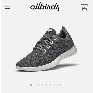 Women's grey Allbirds size 10